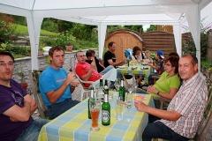 Grillfest 1. Mannschaft 2010